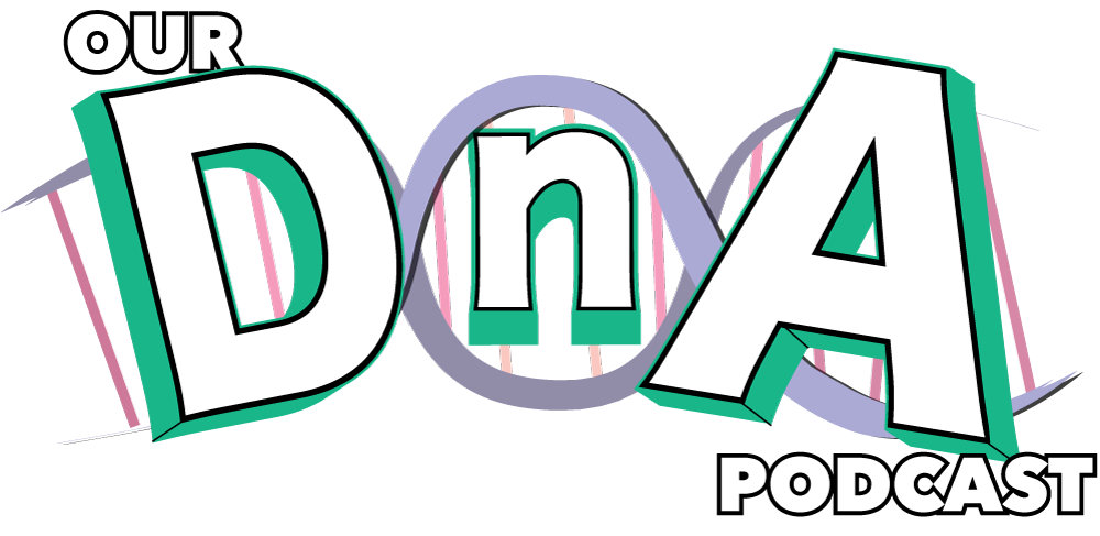 Our DnA podcast logo